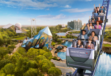 Futuroscope launching first coaster, Objectif Mars, in March