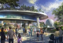 Concept art for new Epcot festival pavilion