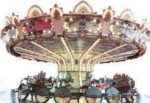 Bike'n Roll carousel by Concept 1900