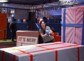 Fun at the NERF Challenge World Tour, with RFID solutions by Connect&GO
