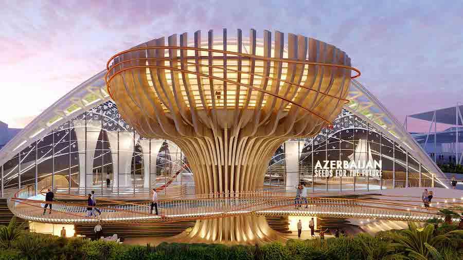 azerbaijan, top expo 2020 pavilions
