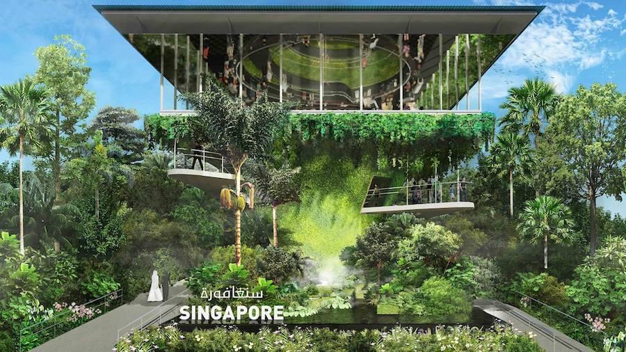 Singapore pavilion at Expo 2020 Dubai