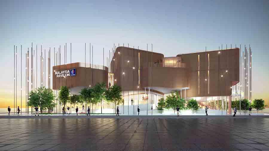 Malaysia's pavilion for Expo 2020 Dubai