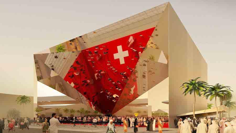 Switzerland's pavilion at Expo 2020 Dubai