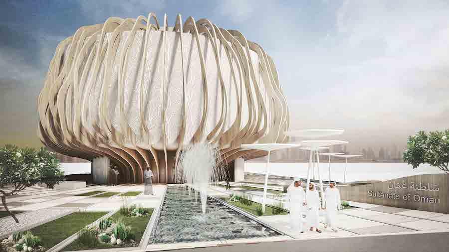 Expo 2020 Dubai pavilion by Oman