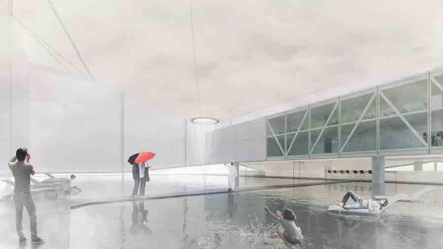 Brazil pavilion at Expo 2020