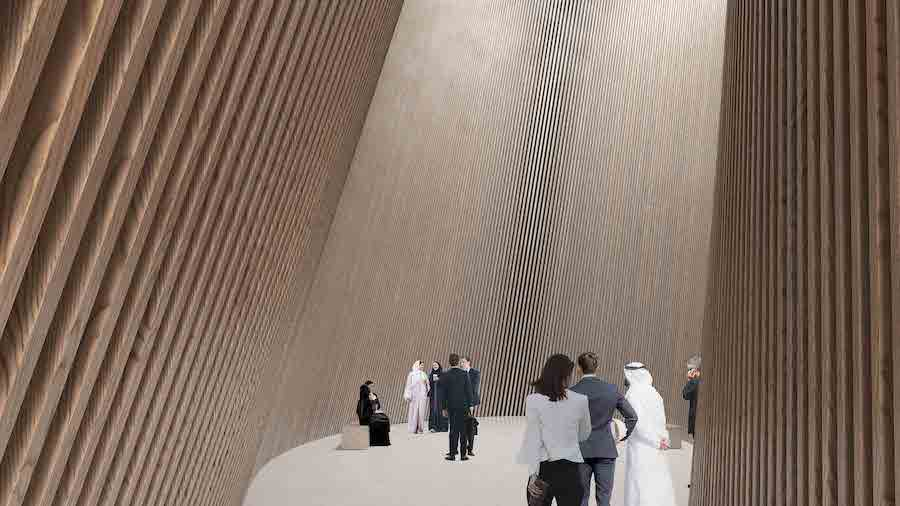 Finland pavilion at Expo 2020