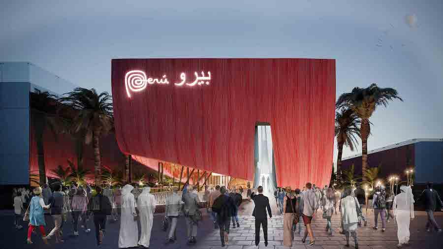 Puru's pavilion at Expo 2020