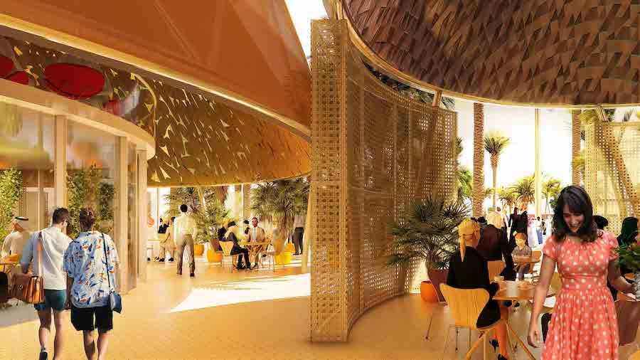 top expo 2020 pavilions - Spain
